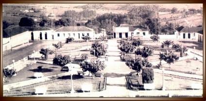 Praça década de 50